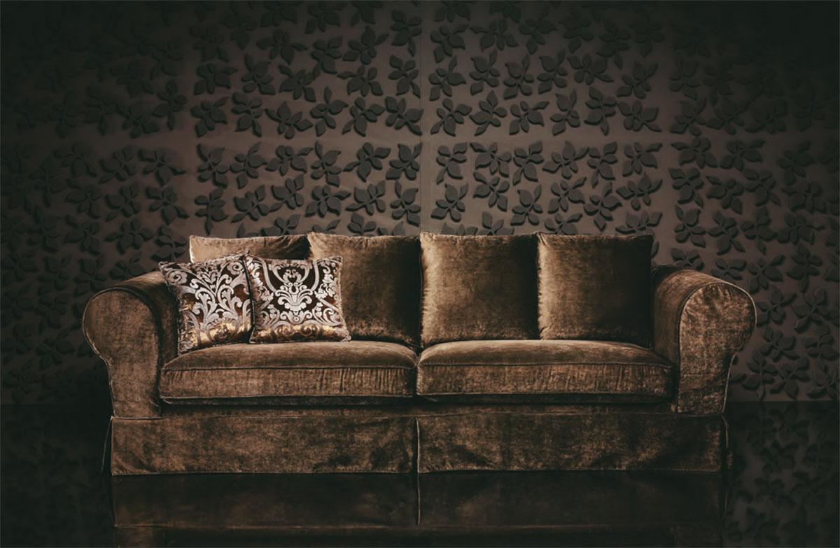 Estilismo de fotografía para Villdis // sofás clásicos