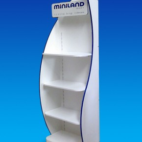 Mueble expositor para Miniland.