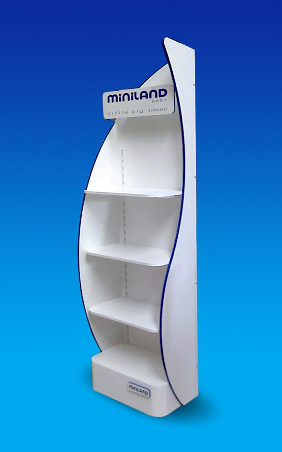 Mueble expositor para Miniland