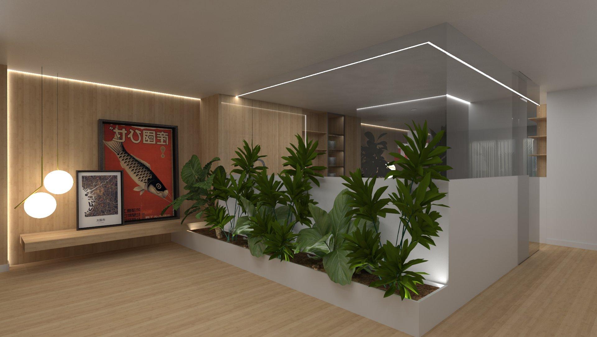 Proyecto de hall y salón / Alicante
