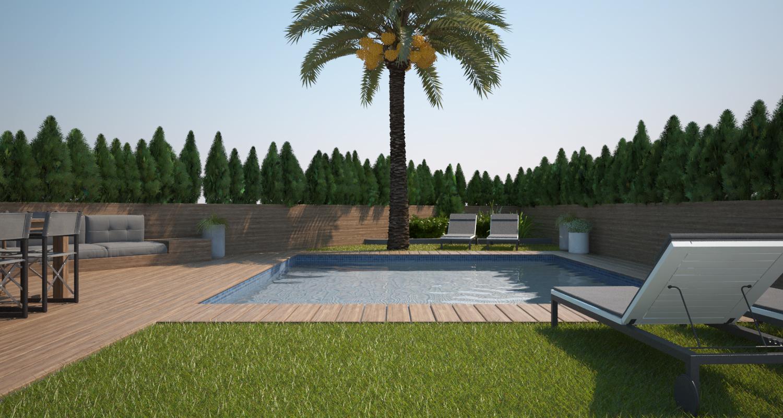 Proyecto de piscina / La Marina Elche