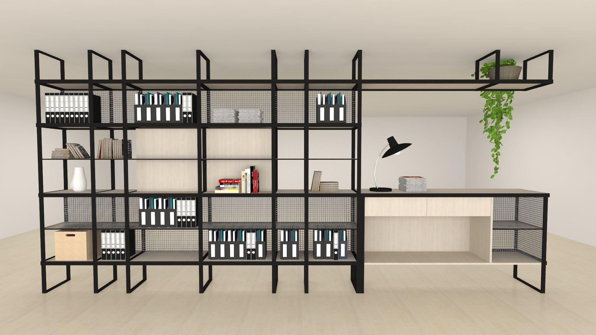 Mueble de hall para oficinas / P. I. Torrellano Elche
